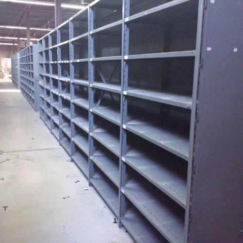 Used Metalware Industrial Boltless Shelving For Sale